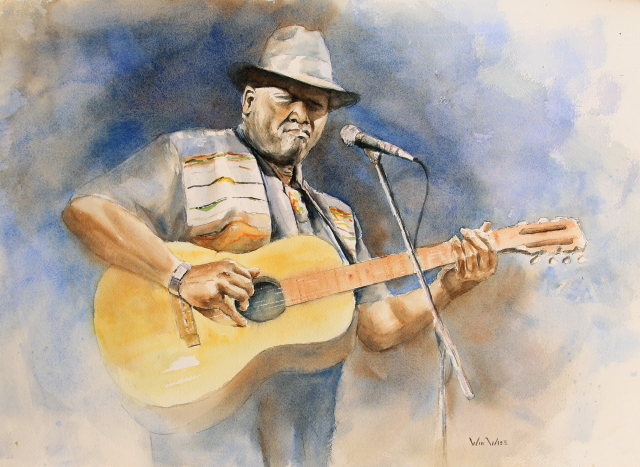 2011 Oct Taj Mahal Plays the Blues 205x14.5 small