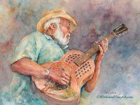 Taj Mahal Blues Painting