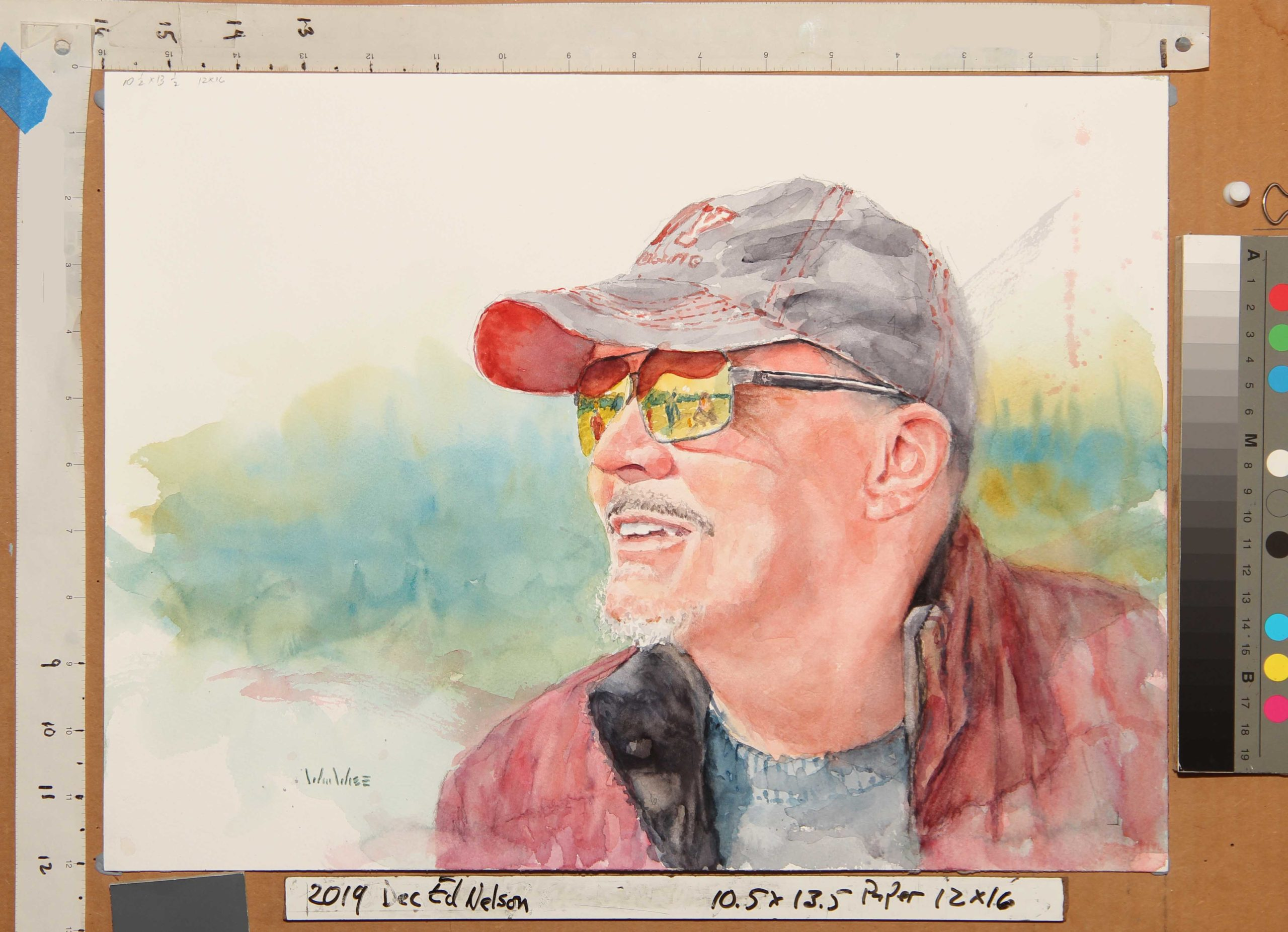 Ed Nelson Watercolor